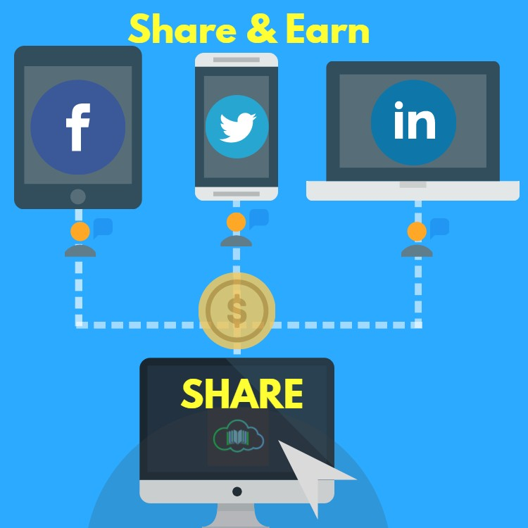 Make Money By Sharing on Social Network