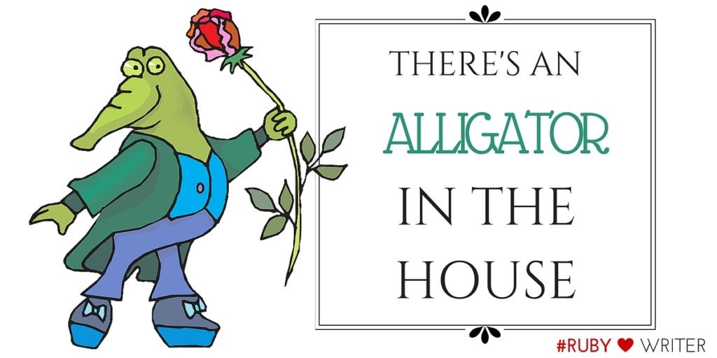 ALLIGATOR IN THE HOUSE - Featured 1200 x 600 px