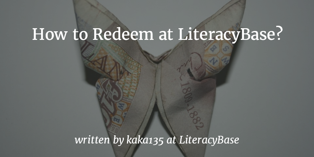 How to redeem at LiteracyBase