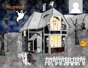 halloween-ghost face