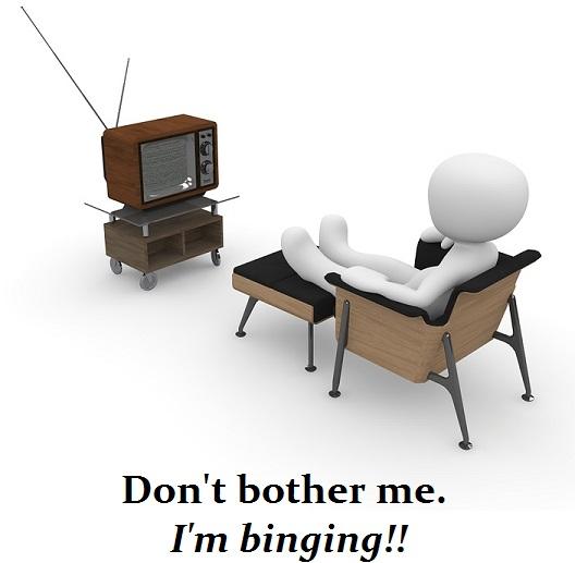 tv-Binge Watching Television Series