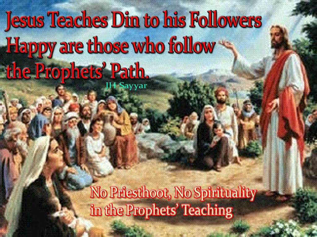Din Versus Religion Versus Spirituality