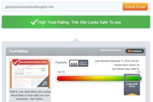 randomthoughts scamadviser trust rating 97