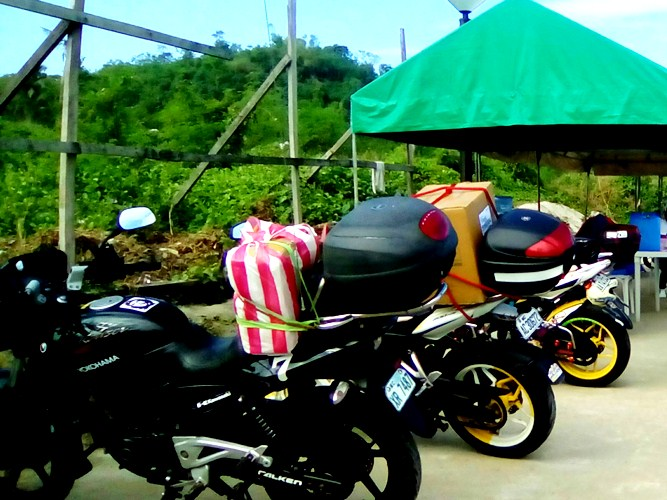 Special Lanes For Motorcycles In National Road