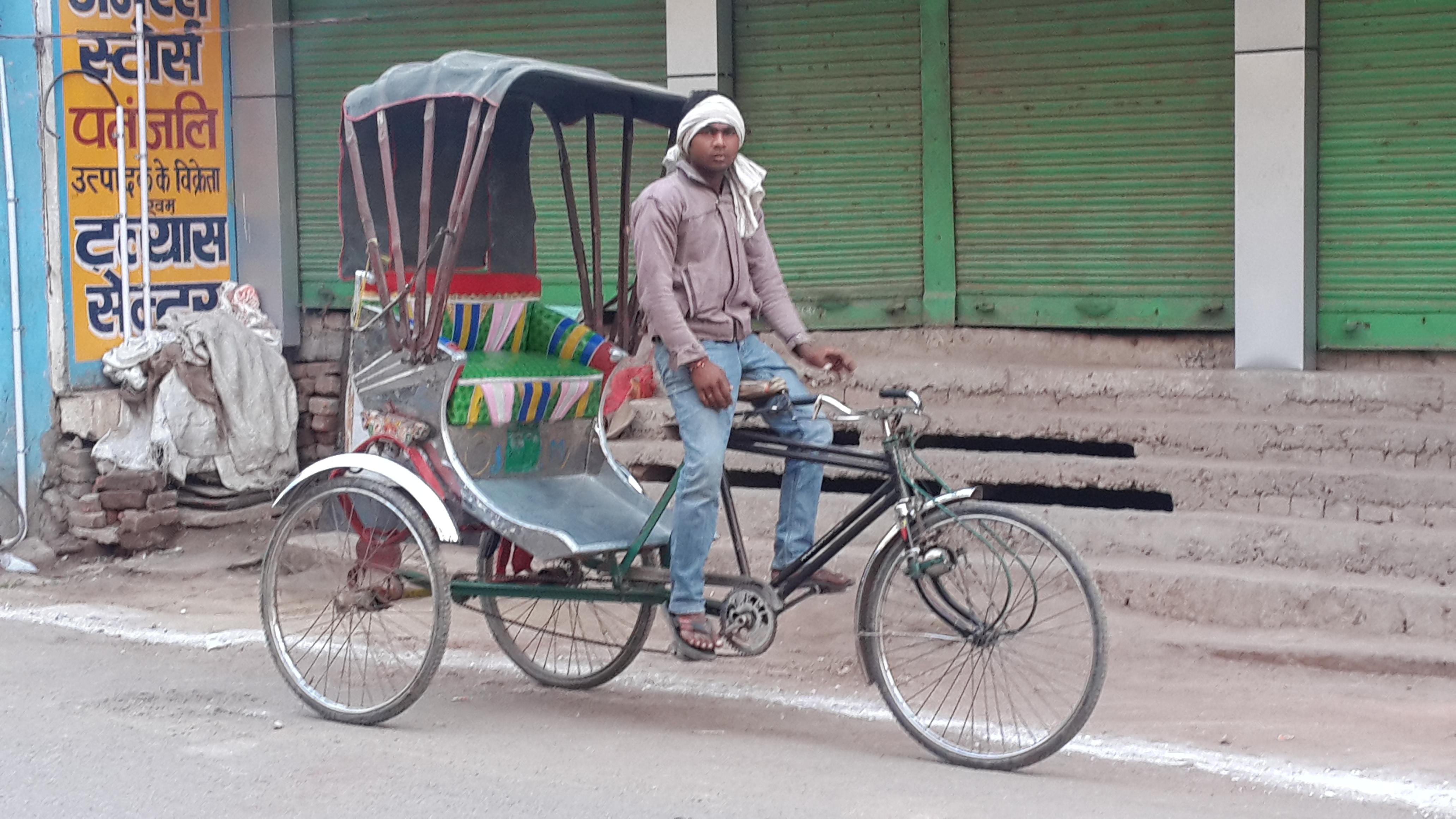 A Rickshaw
