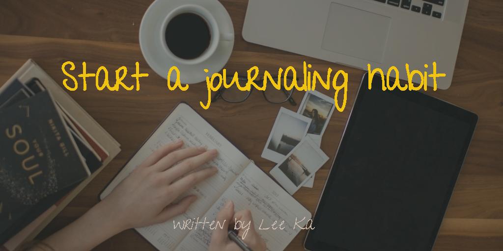 LB-start journaling habit