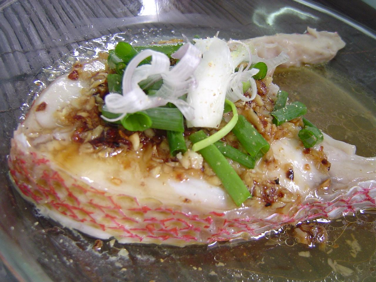 Steamed fish fillet 007