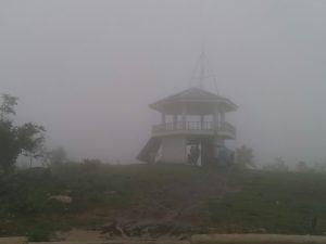 skyline in fog photo is mine