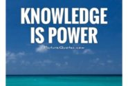 Group logo of Knowledge Is Power Use It Wisely