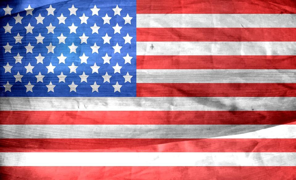 us flag_America Has The 45th USA President_President Donald Trump
